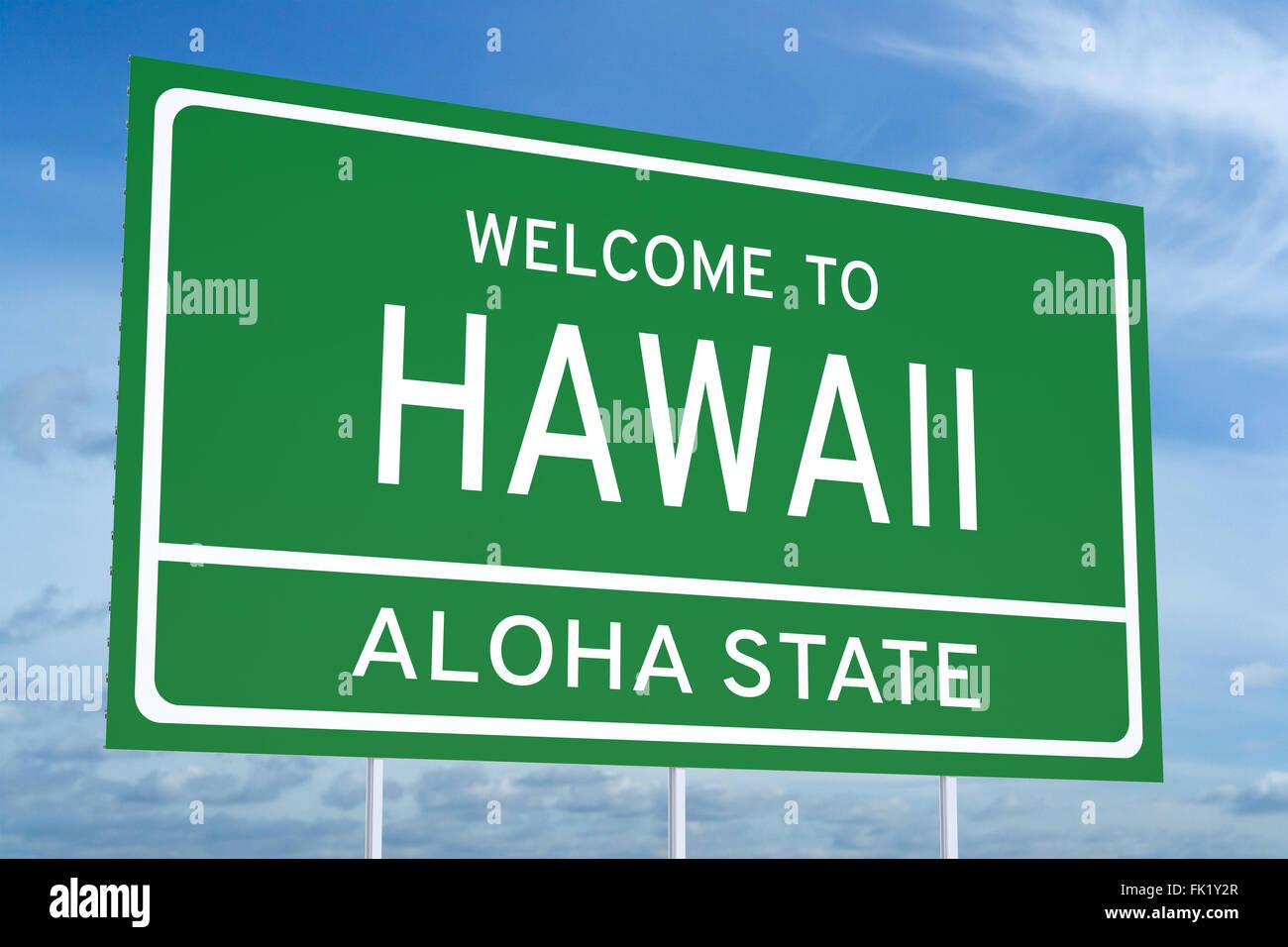 Welcome To Hawaii Imágenes De Stock & Welcome To Hawaii Fotos De ...