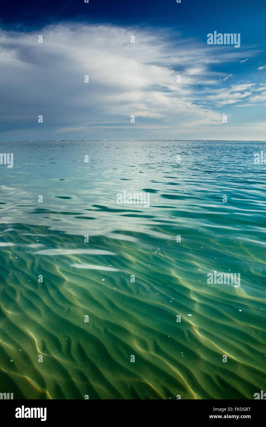 La playa del Puerto de San Gregorio, en el oeste de Australia Imagen De Stock
