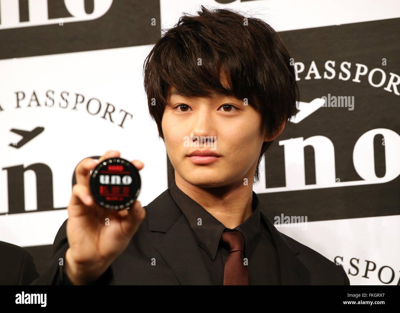 Tokio Japon 9 Mar 2016 Shuhei Actor Japones Nomura Muestra