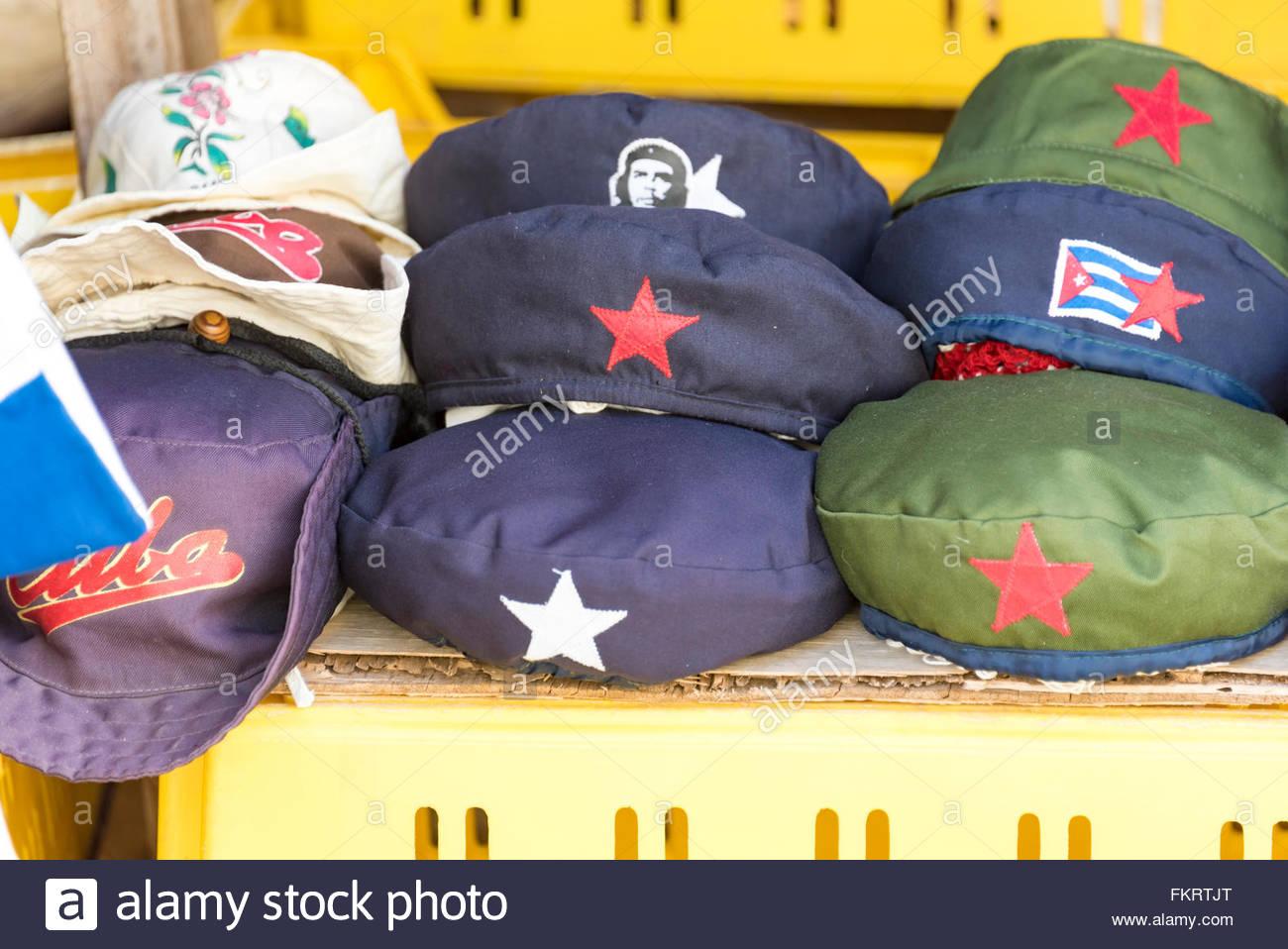 04522cebff1d9 Local Hats Souvenirs Imágenes De Stock   Local Hats Souvenirs Fotos ...