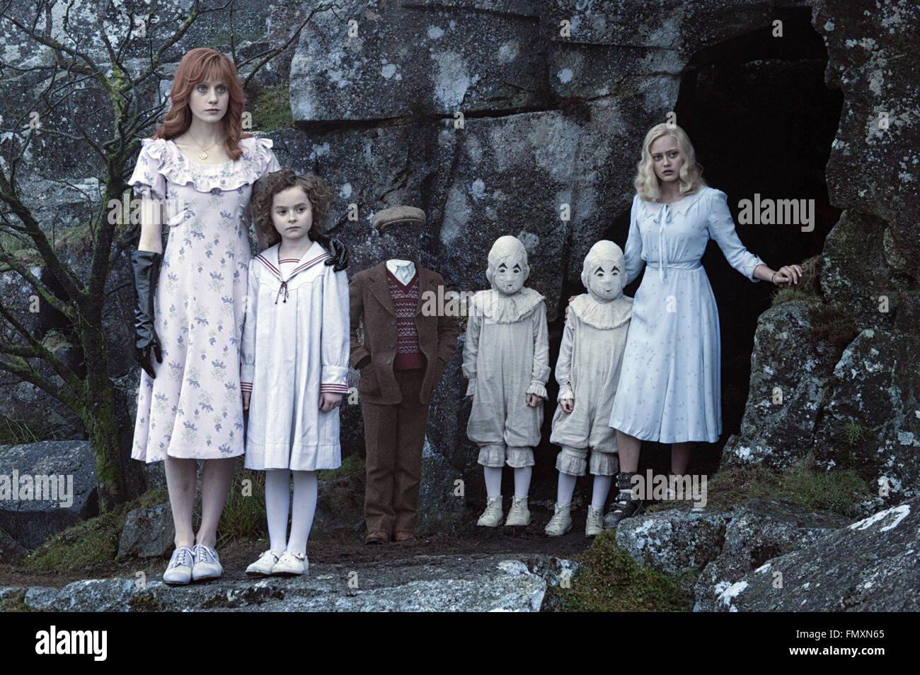 La casa de miss Peregrine para niños peculiares es un próximo 2016 American fantasía oscura aventura Imagen De Stock