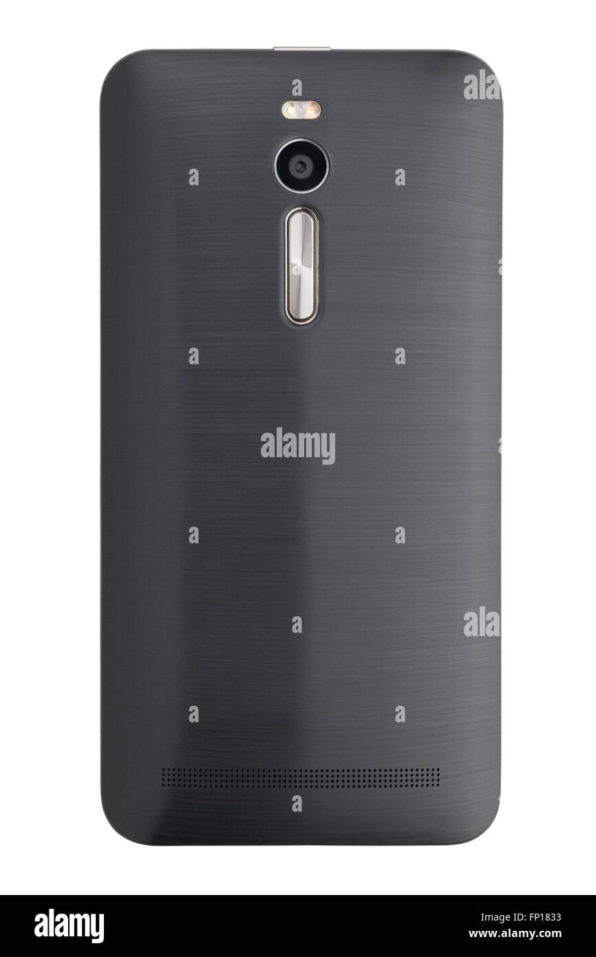Teléfono móvil posterior aislado Imagen De Stock