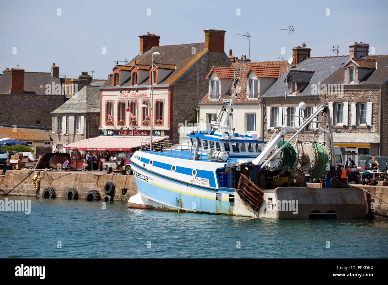 Puerto de Barfleur Foto de stock