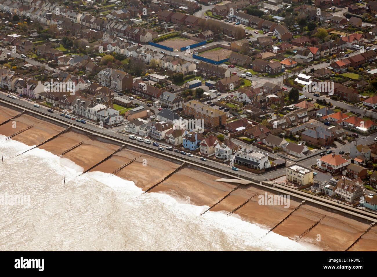 Vista aérea de tratar Kent Imagen De Stock