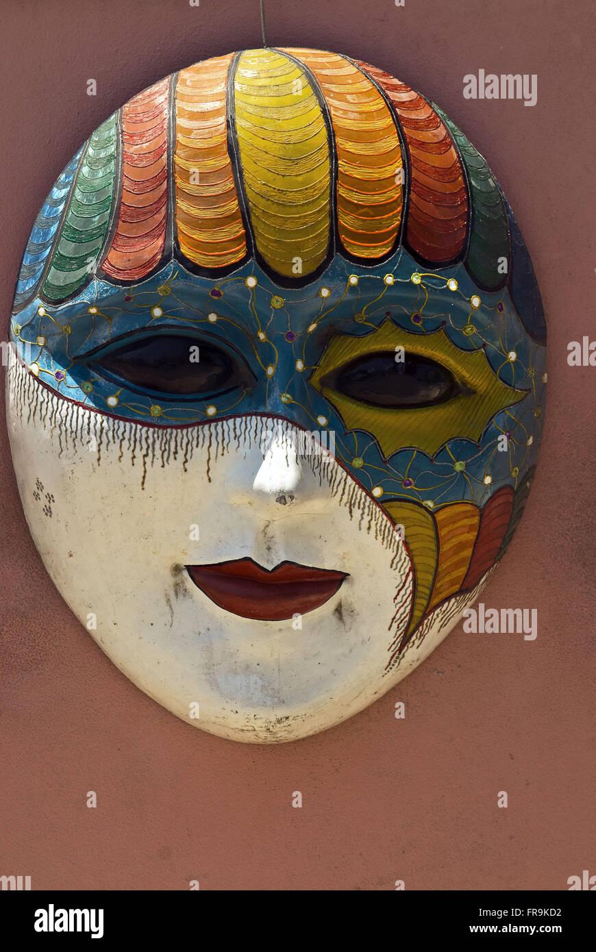 Mascara - Pernambuco artesanía Imagen De Stock