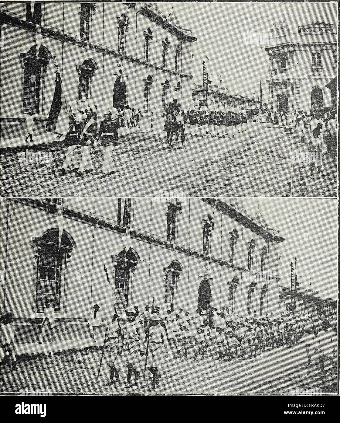 El Salvador al vuelo; notas, impresiones y perfiles. Republica de El Salvador, América Central, 1917 (1917) Foto de stock