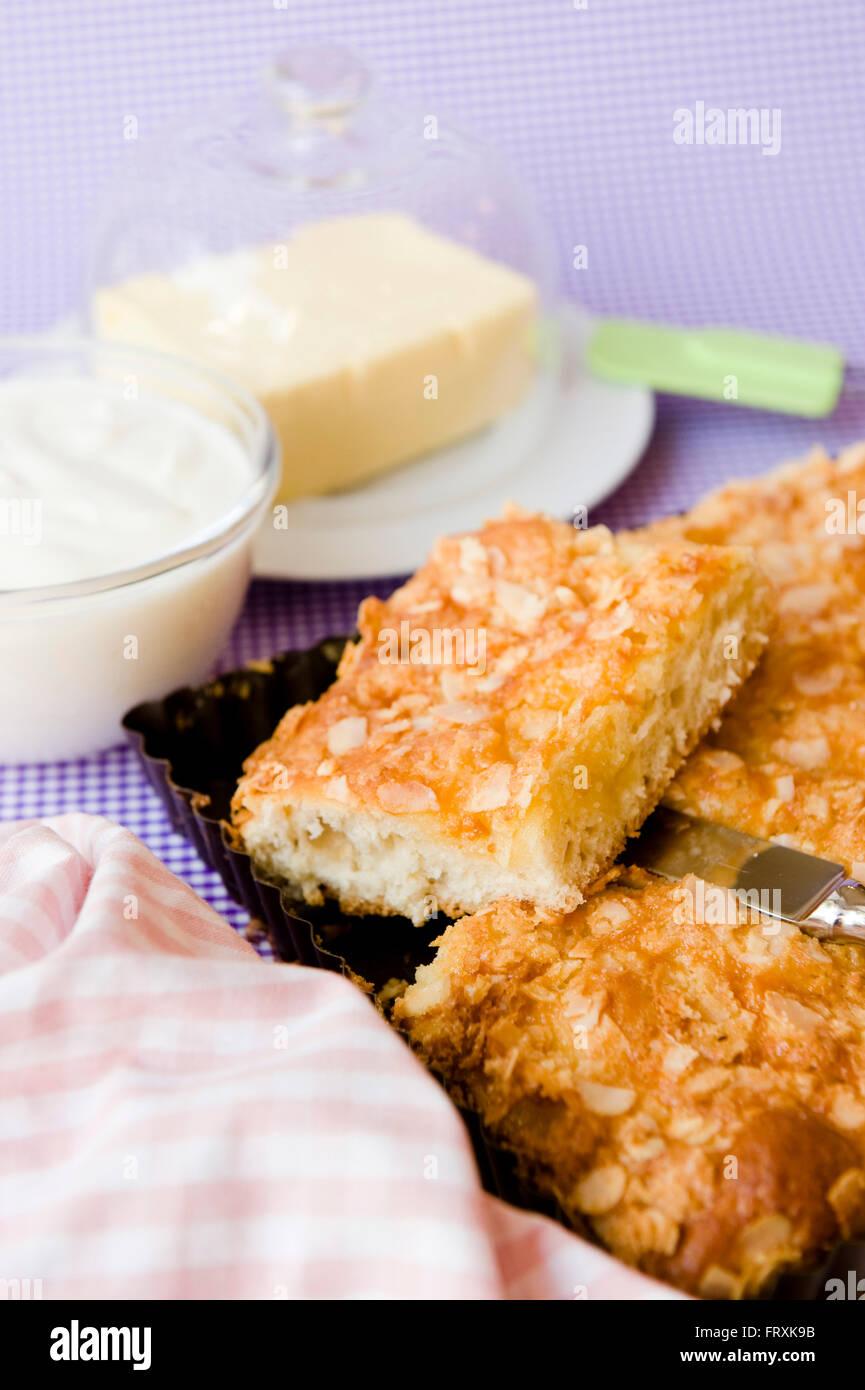 Pastel de mantequilla Imagen De Stock