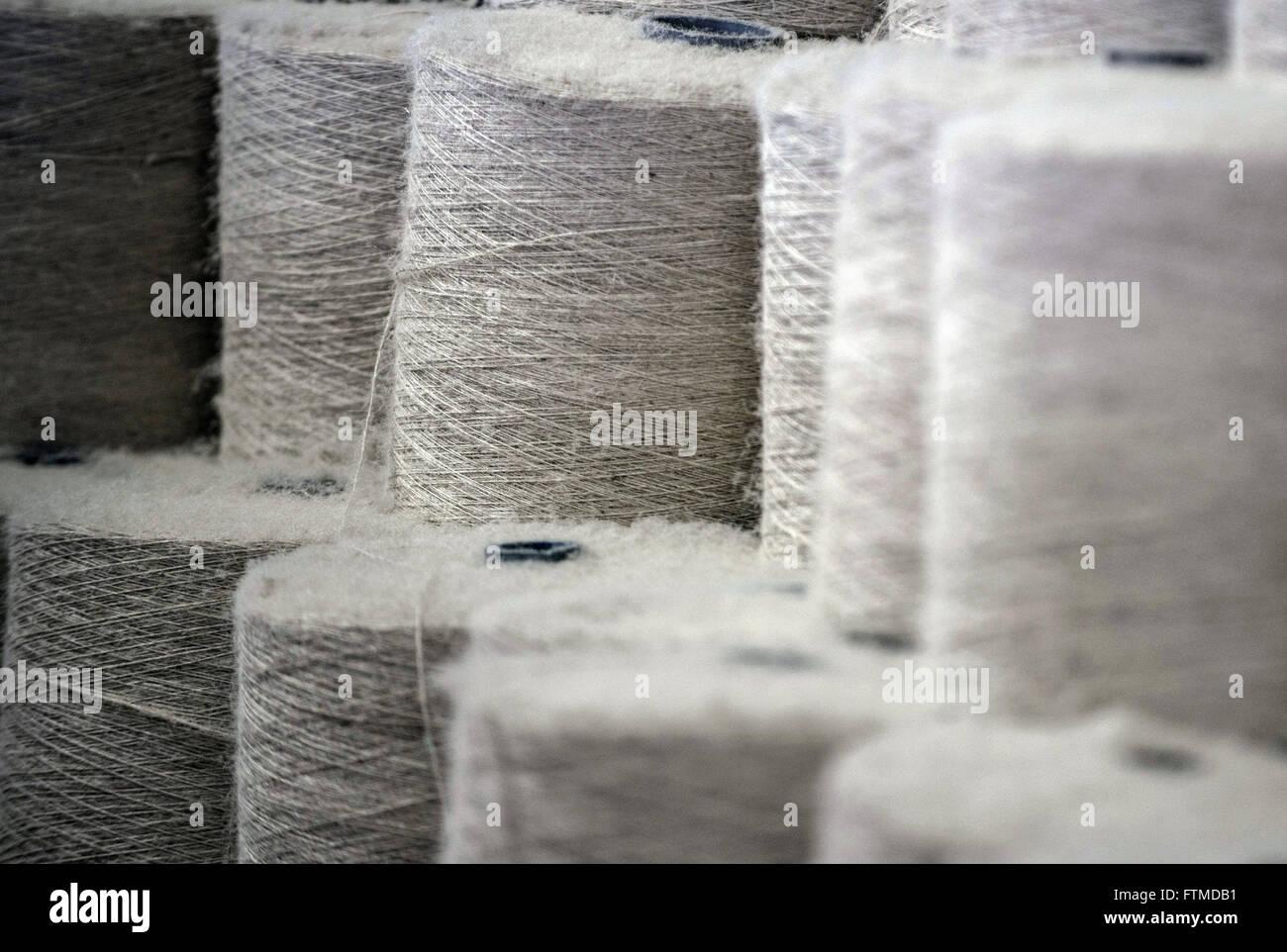 37da319df Detalle de rollos de yute fabrica embolsado · Pulsar Imagens / Alamy Foto  de stock