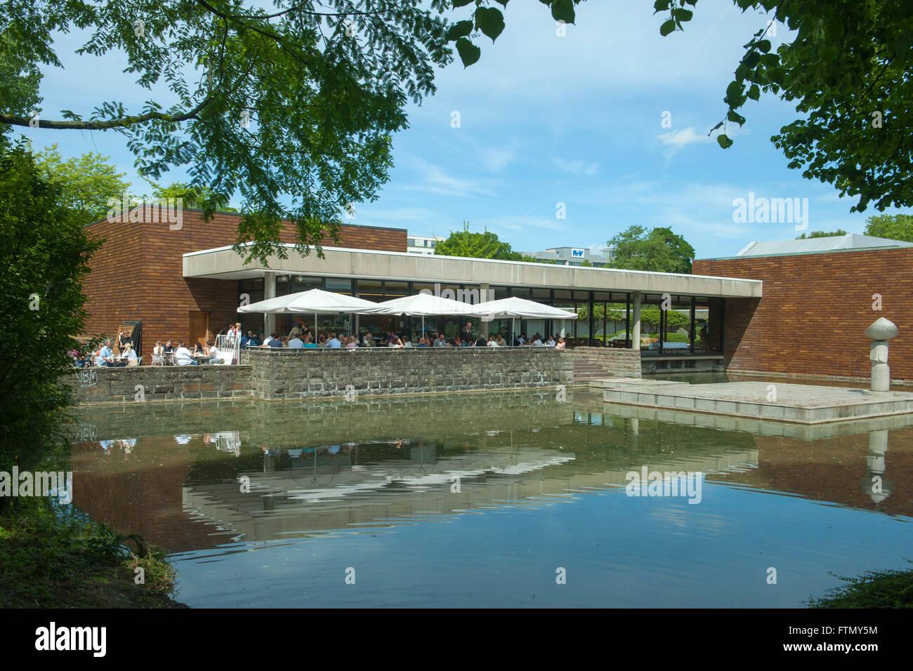 Köln, Ehrenfeld, Neustadt-Süd, Universitätsstrasse, Museum für ostasiatische Kunst Imagen De Stock