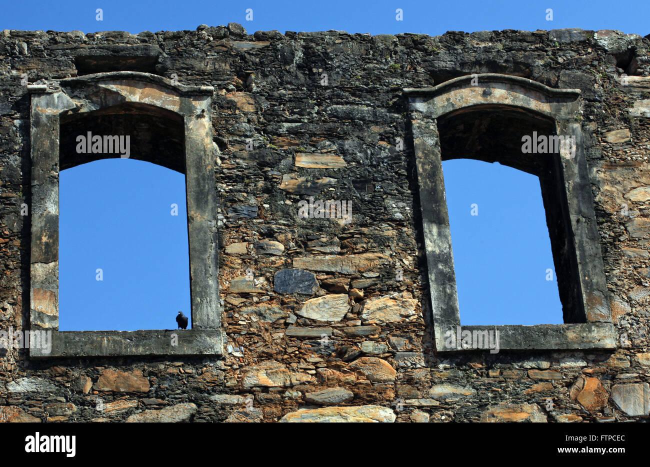 Ruinas de la Iglesia de Nuestra Señora del Rosario de los negros - La construcción comenzó en 1768 Imagen De Stock