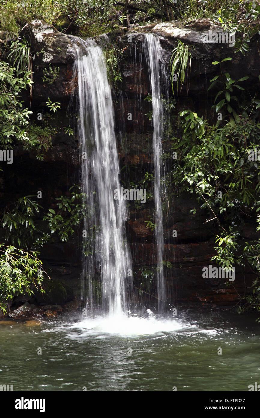 Cascada del arroyo Louquinhas pasatiempos Imagen De Stock