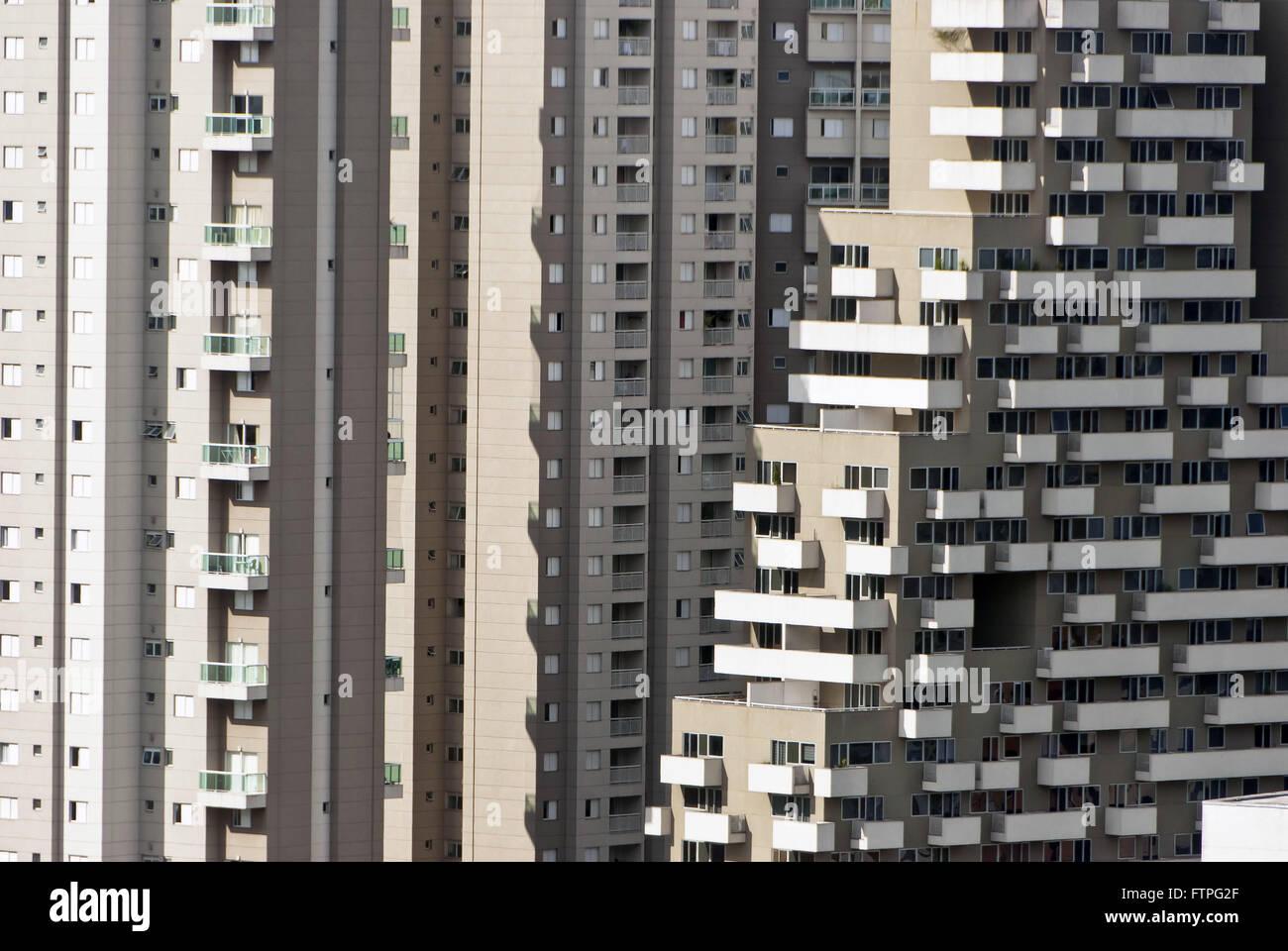 Los edificios en el barrio Paraíso de Sao Paulo Imagen De Stock