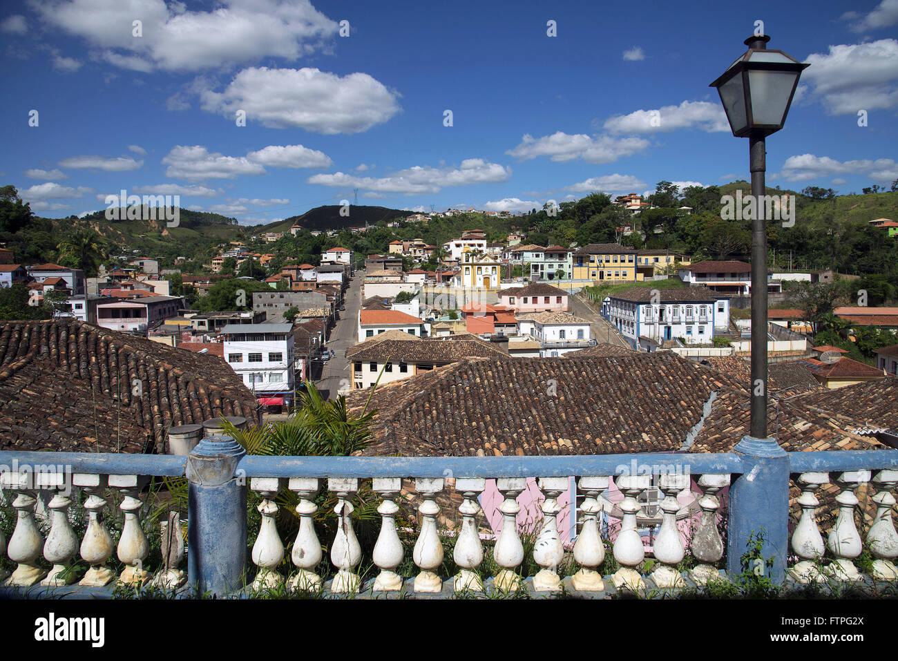 Vista de la ciudad con la capilla de Nuestra Señora del Rosario de los negros al centro Imagen De Stock