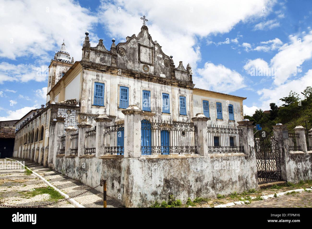 Convento de Nuestra Señora del Reconcavo Baiano humilde Imagen De Stock