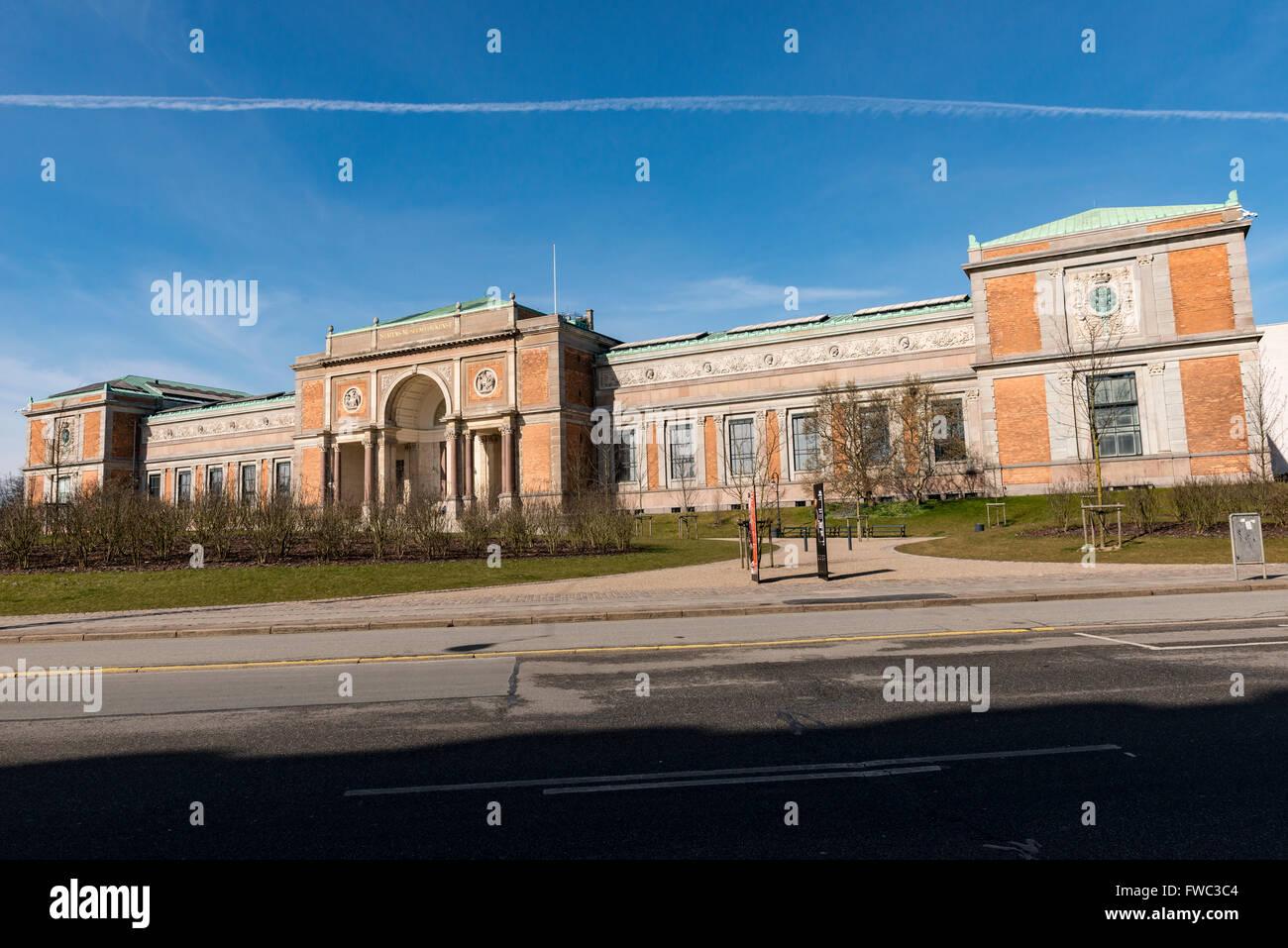 La Galería Nacional de Dinamarca Foto de stock