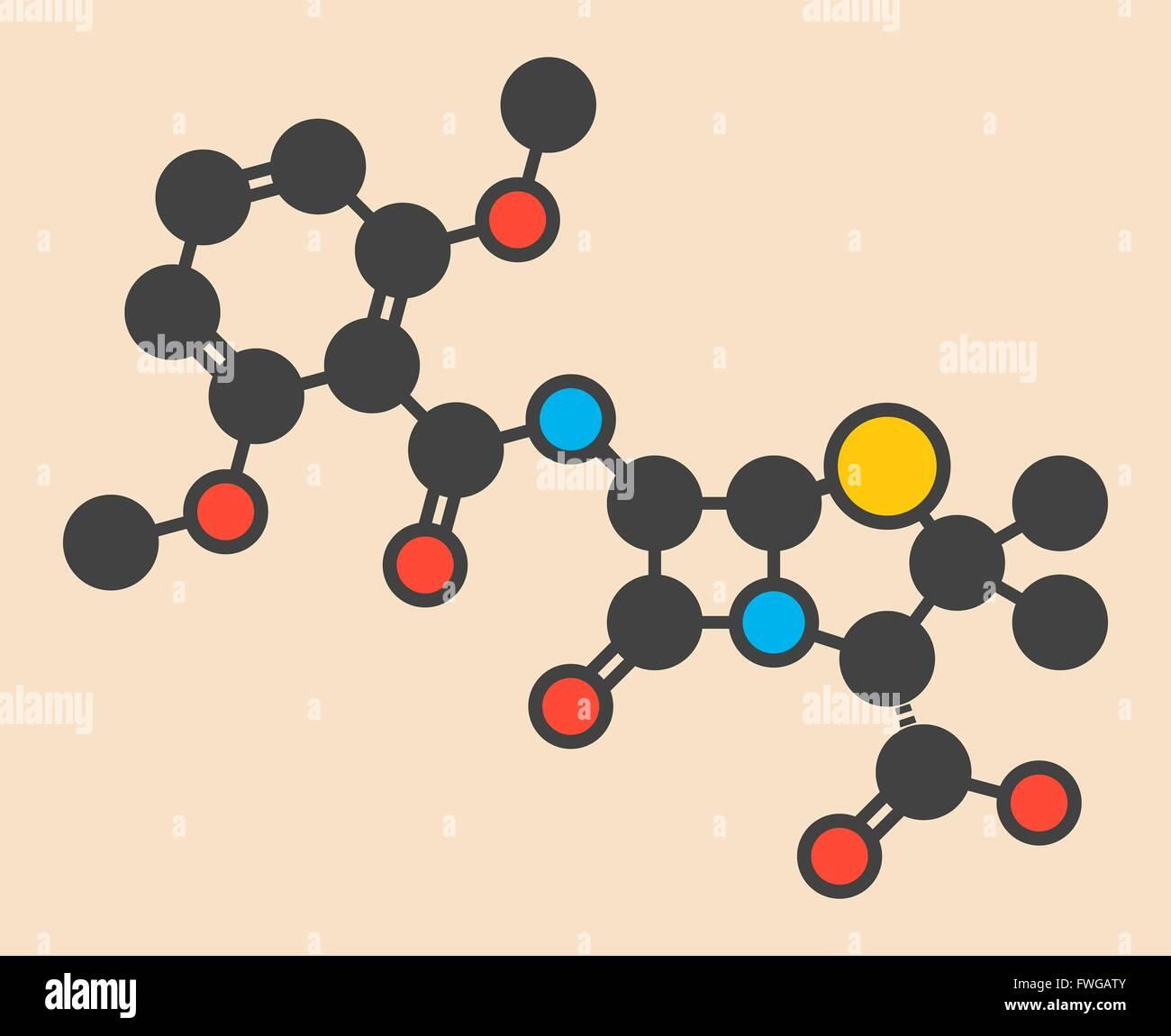 386380475542 Antibiótico Meticilina (beta-lactámico) clase de molécula MRSA es sinónimo  de Staphylococcus aureus meticilina-resistente estilizado