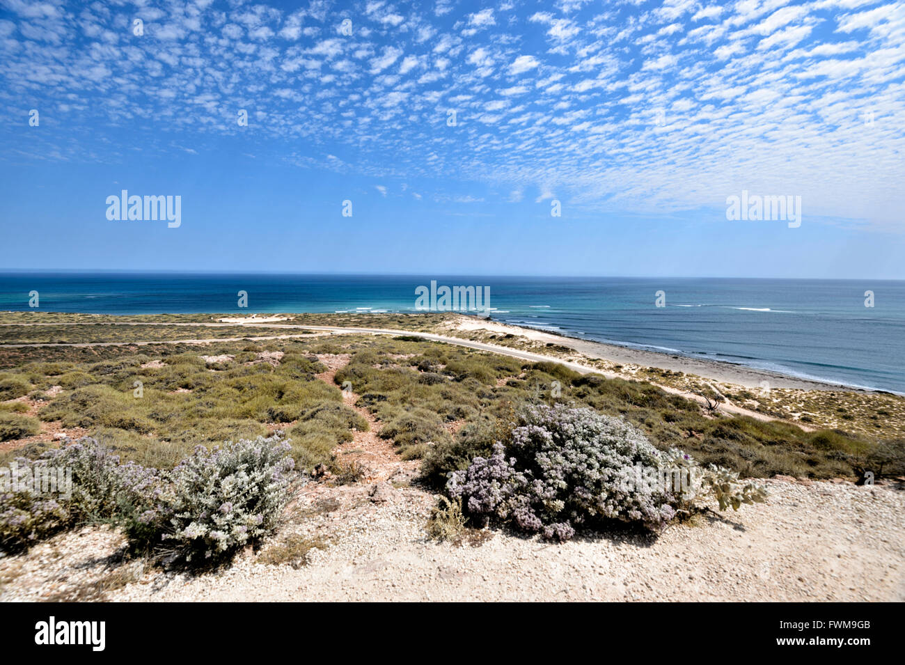 La costa de Ningaloo, Australia Occidental, WA, Australia Imagen De Stock
