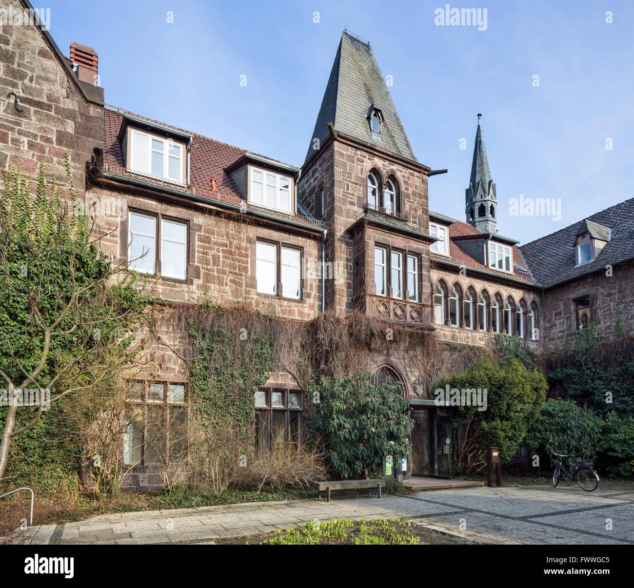 La Universidad de Kassel, Departamento de Agricultura Orgánica y la Agricultura Internacional, oficina de campo, Imagen De Stock