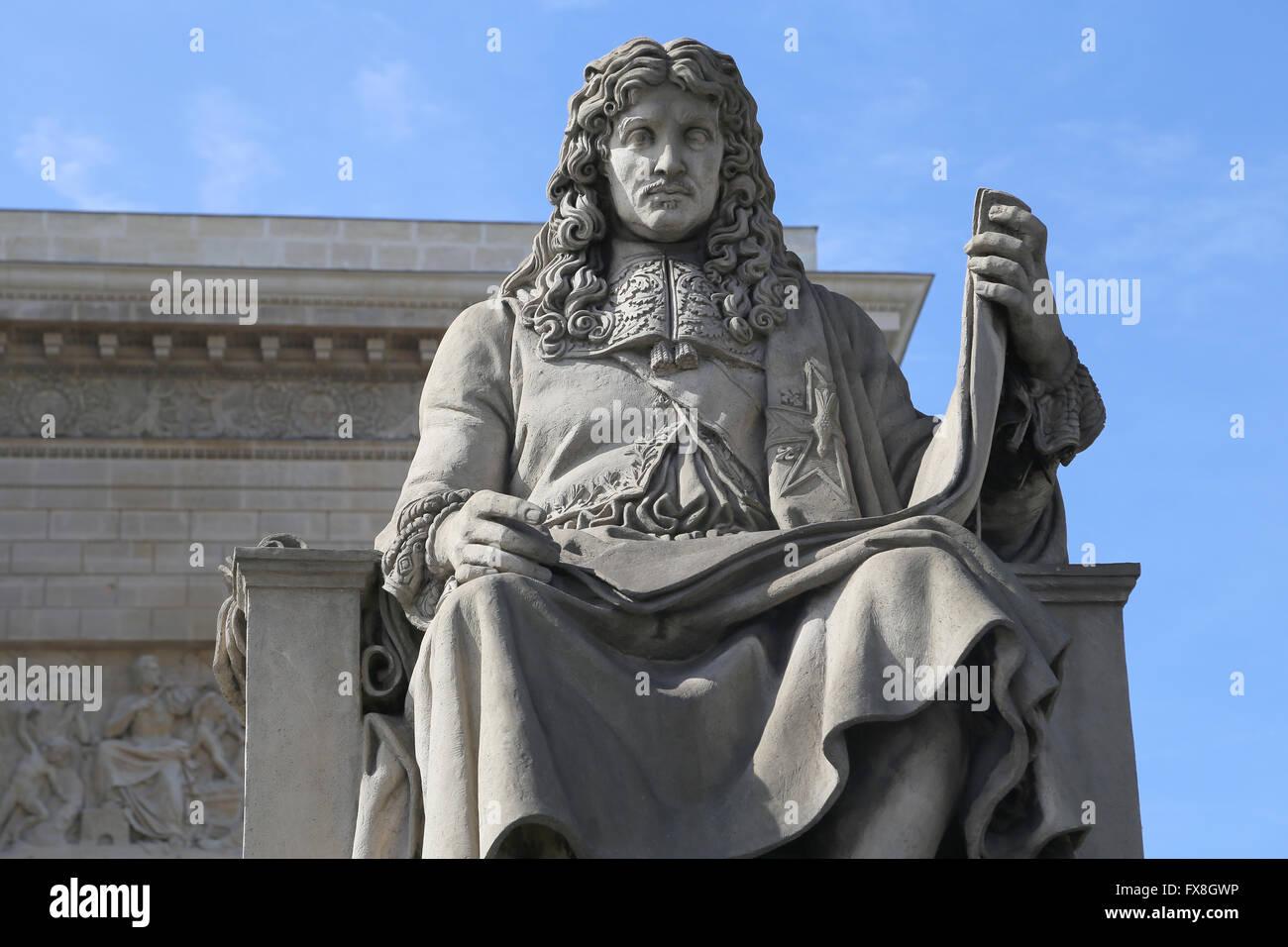 Jean-Baptiste Colbert (1619-1683). El político francés. 1665-1683 Ministro de Finanzas bajo el reinado Imagen De Stock