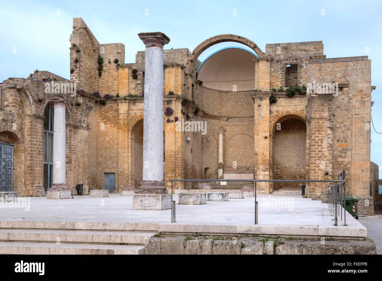 Salemi, Trapani, Sicilia, Italia Imagen De Stock