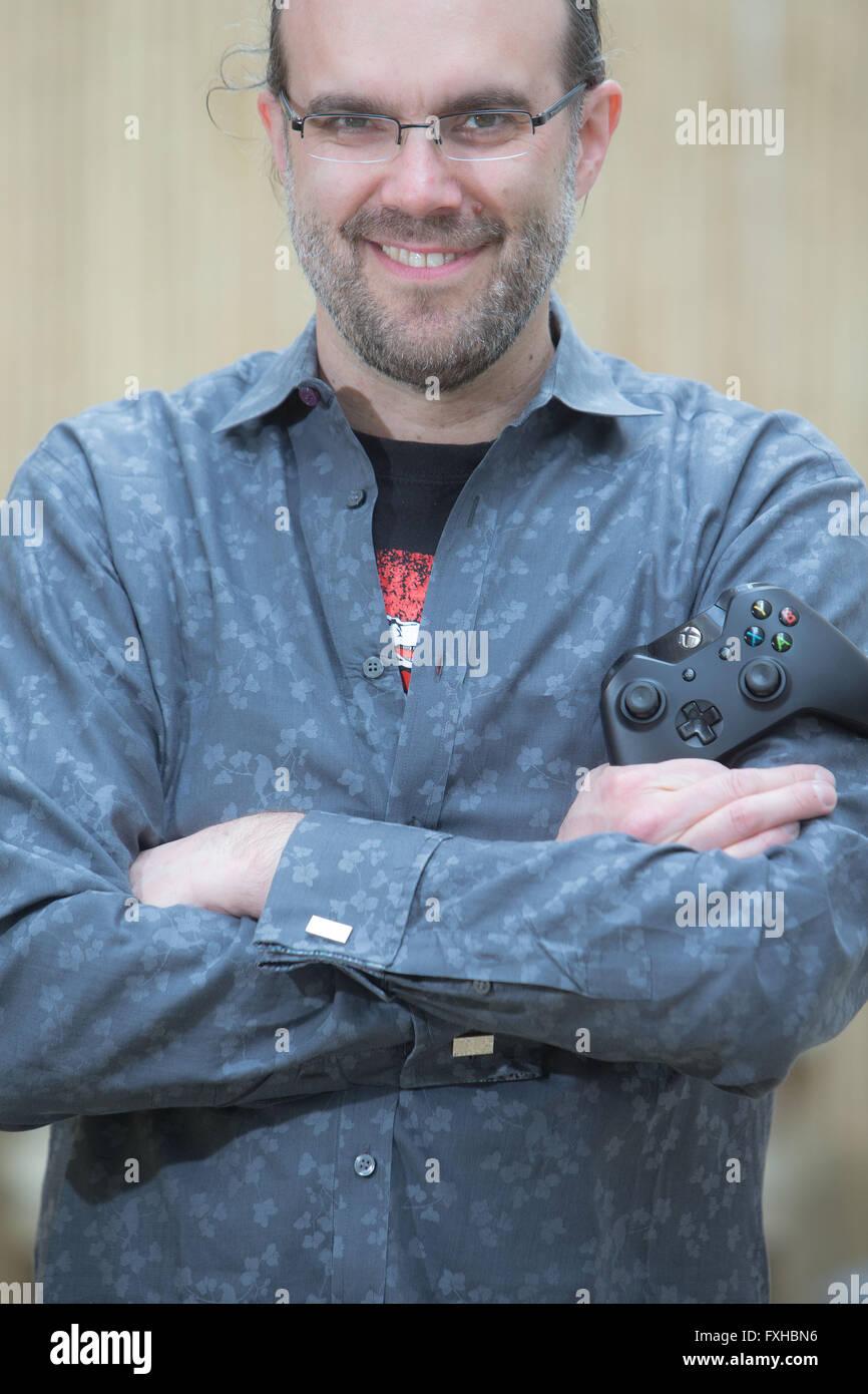 Boyd Multerer - el hombre responsable de Xbox Live, el servicio de juego y entretenimiento ahora utilizado por más Imagen De Stock