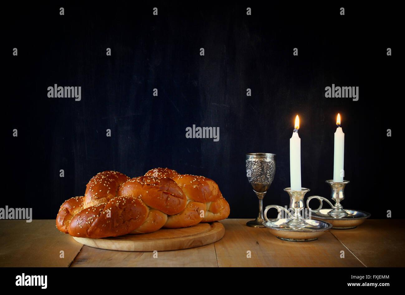 Sábado imagen concepto de la religión judía. Imagen De Stock
