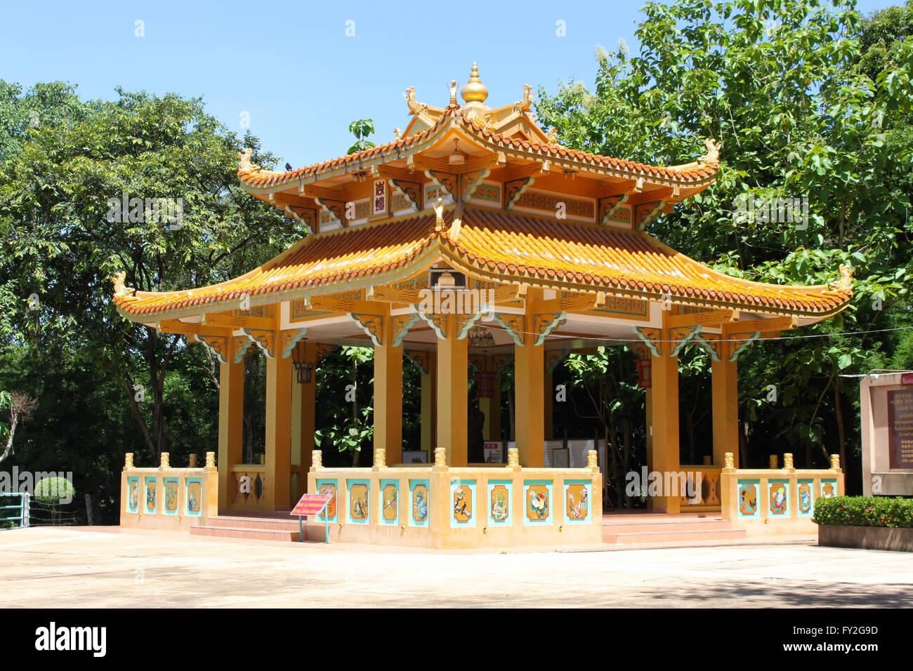 El Monte del Templo Pratamnak, Pattaya, Tailandia Foto de stock