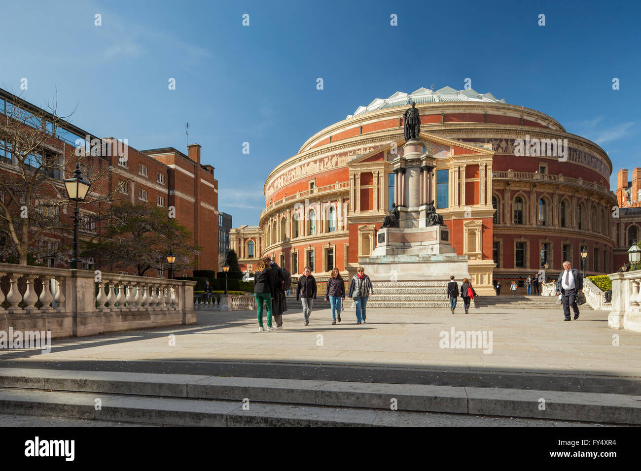 Albert Hall en Kensington, Londres, Inglaterra. Imagen De Stock