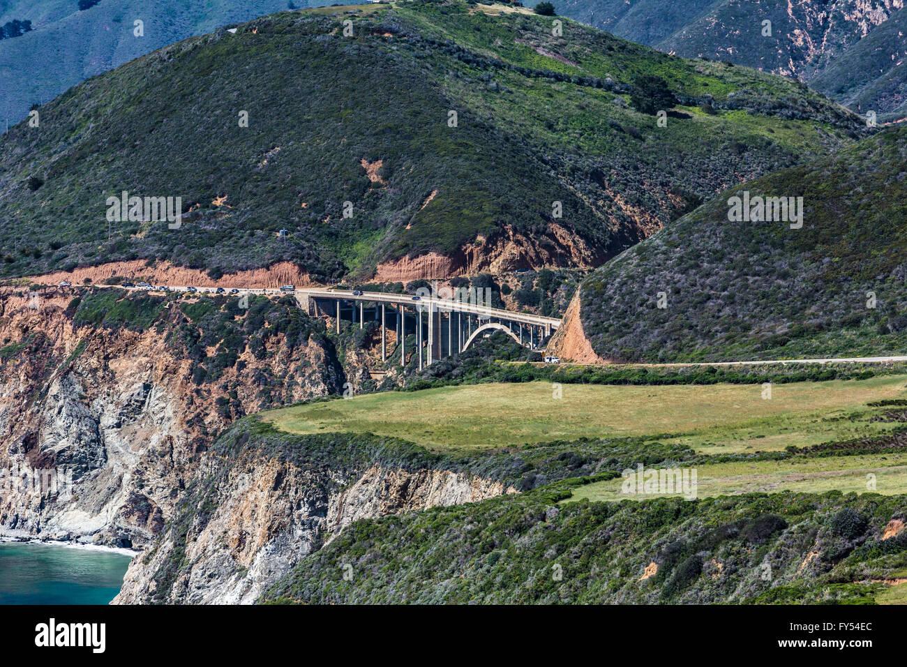 Puente de Big sur Imagen De Stock