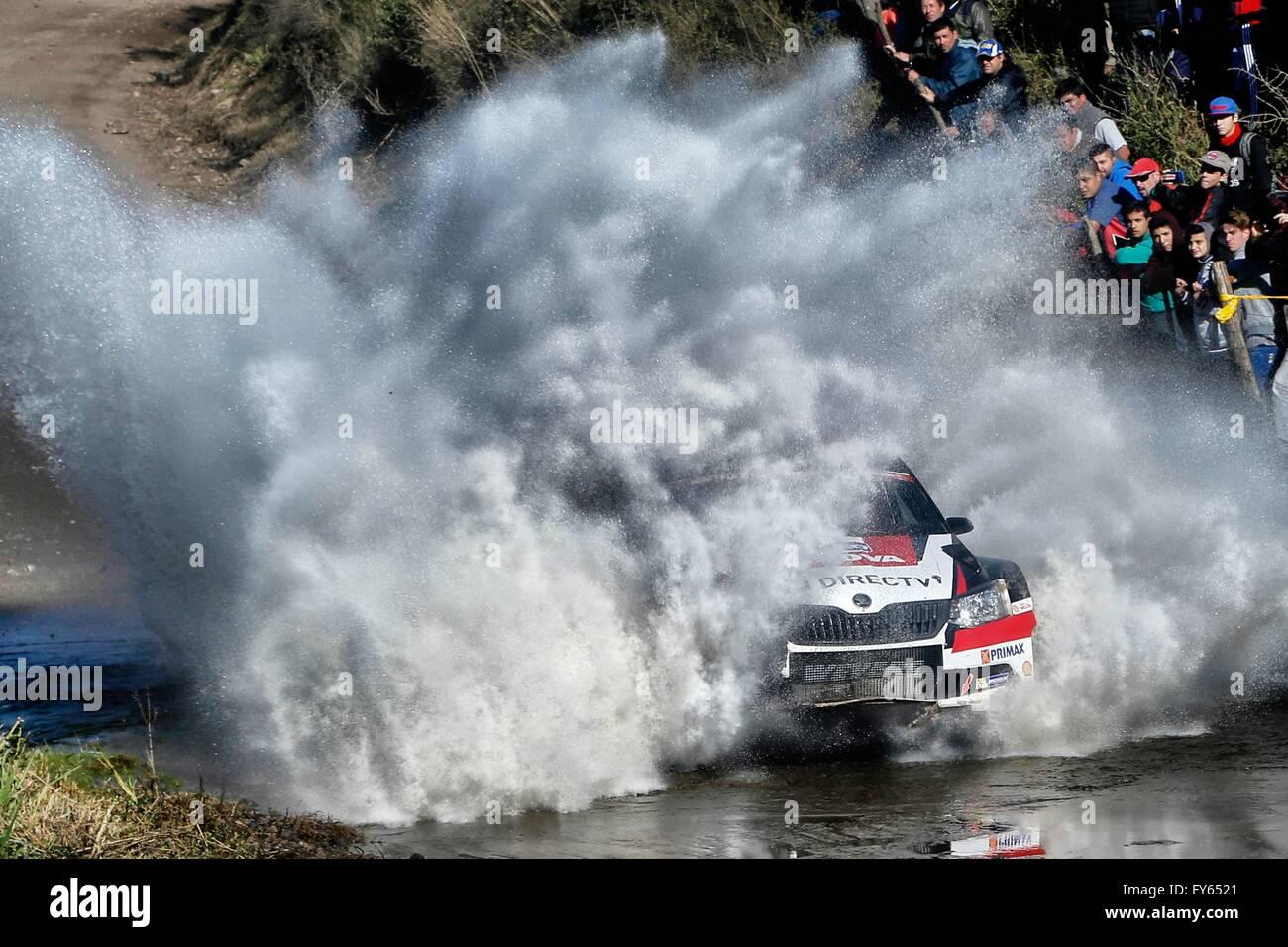 Argentina. 22 abr, 2016. Automovilismo WRC WRC Rally de Argentina. FUCHS Crédito: Además de los deportes Imagen De Stock