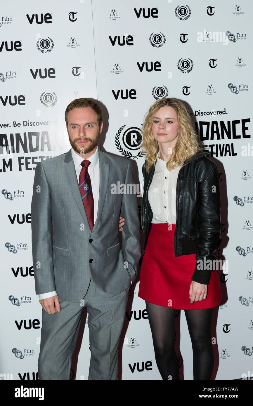 David Elliot asistir al estreno británico de Flim en el 22º Festival de Cine Raindance anual en Vue Piccadilly, Foto de stock
