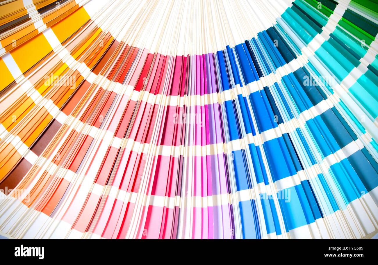 Asombroso Libro De Muestras De Colores De Matriz Componente ...