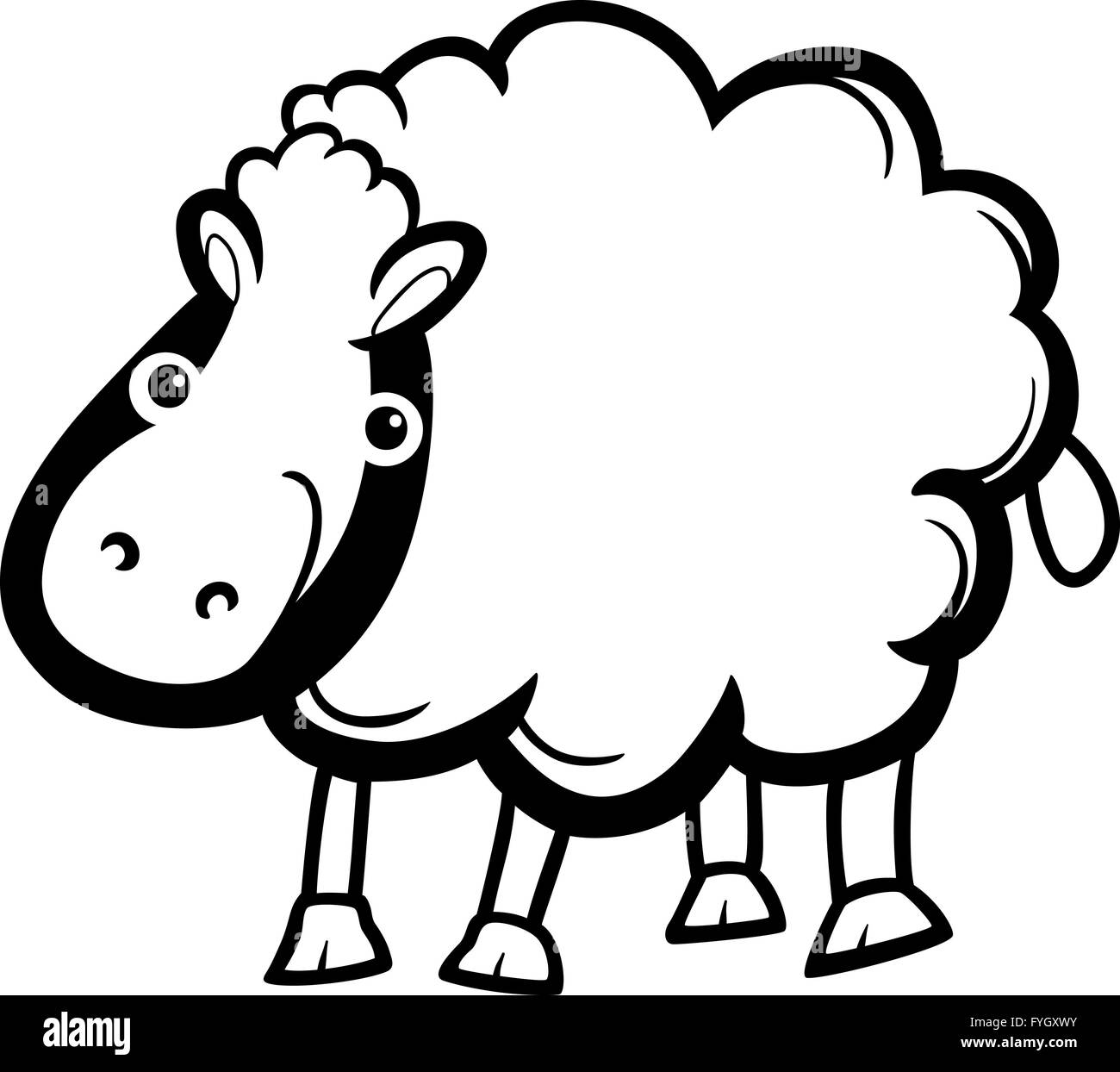 Cartoon Sheep Imágenes De Stock & Cartoon Sheep Fotos De Stock ...