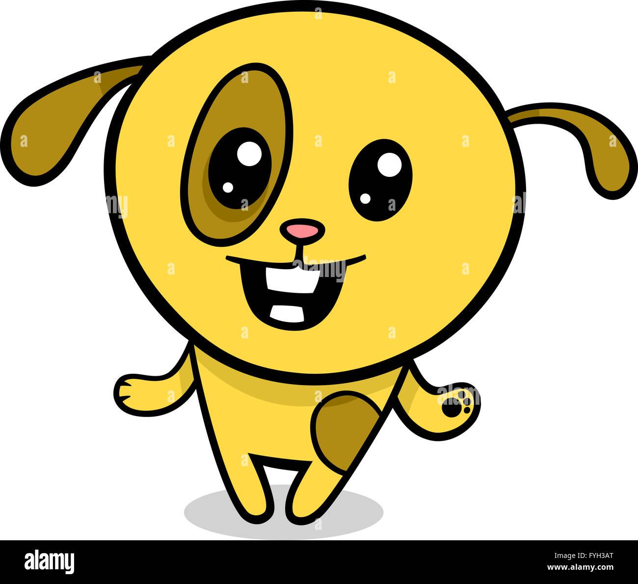 Kawaii Dog Icon Imágenes De Stock Kawaii Dog Icon Fotos De Stock