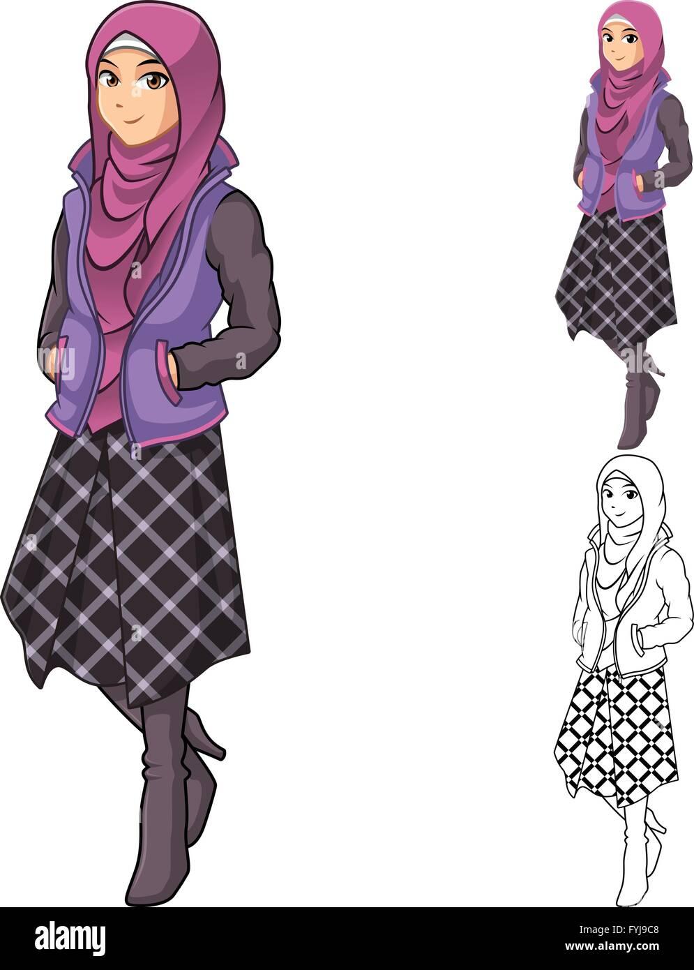 Mujer Bufanda O Musulmana Moda Púrpura Velo Llevar De Con Traje gTdaqg