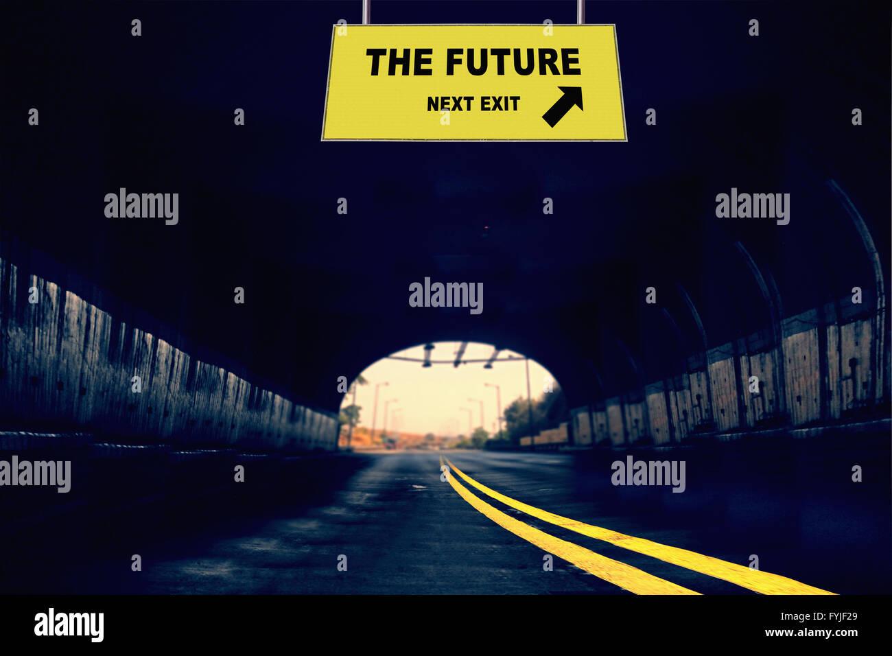 Concepto futuro Foto de stock