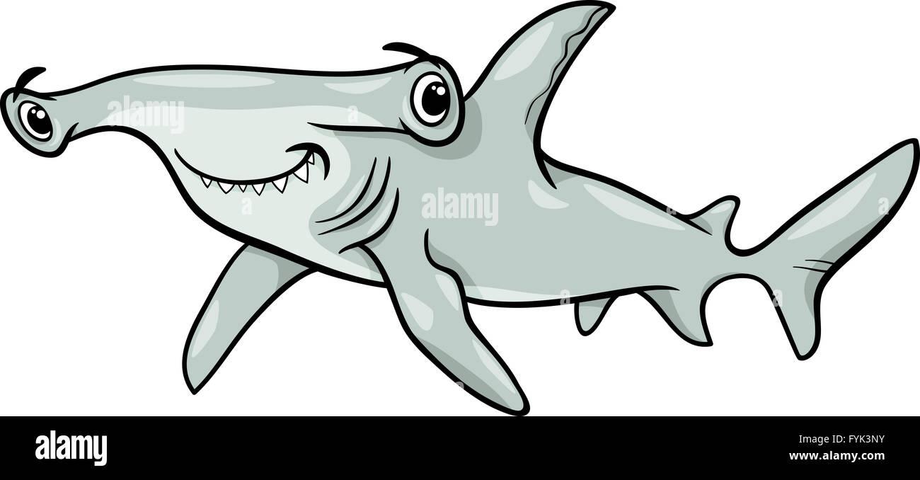 Cartoon Hammerhead Shark Imágenes De Stock & Cartoon Hammerhead ...