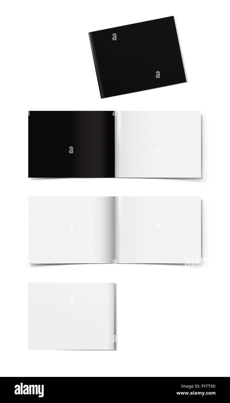 Diseño de folleto Foto de stock