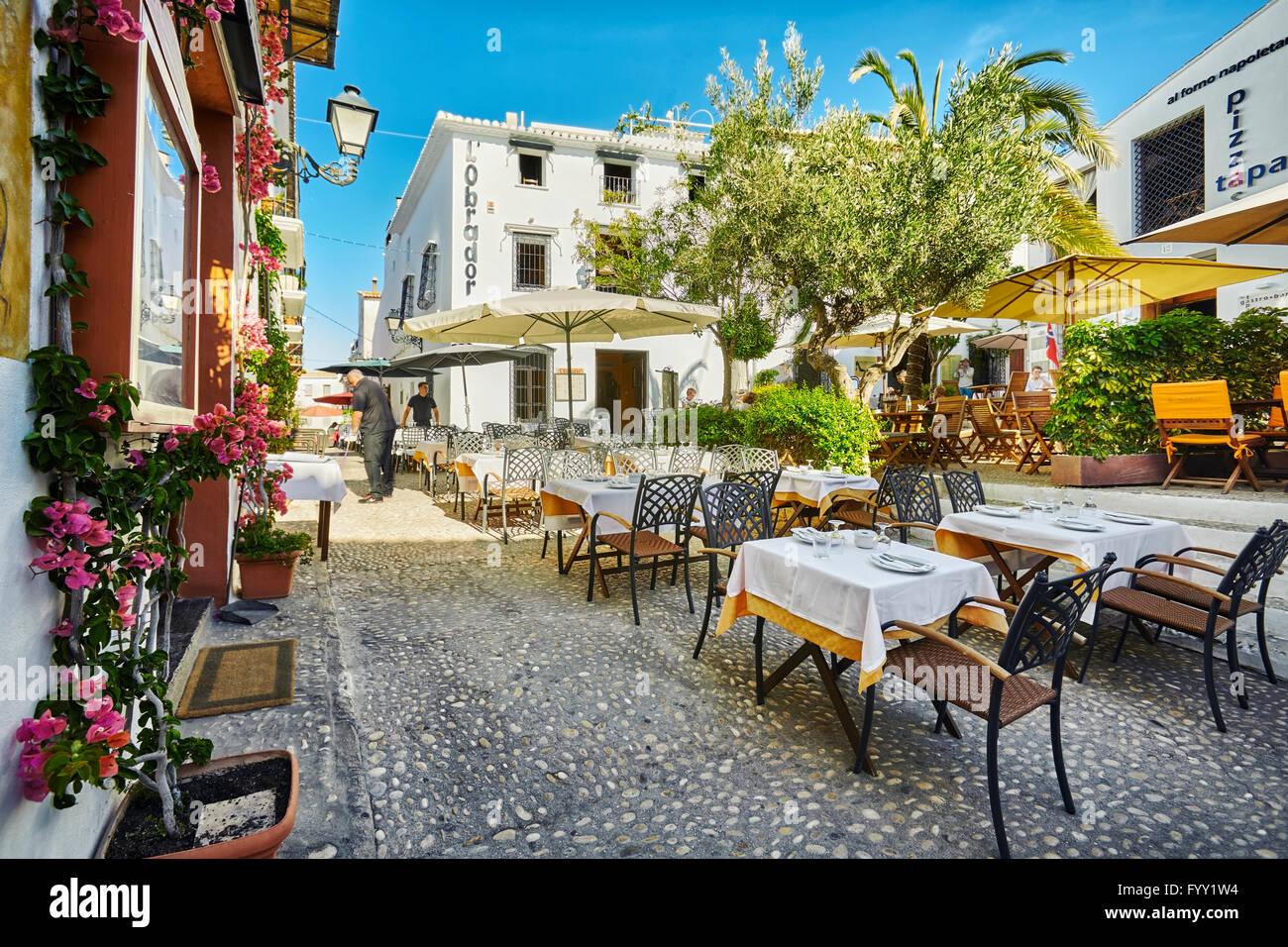 Restaurantes Y Terrazas En Altea Alicante La Comunidad De