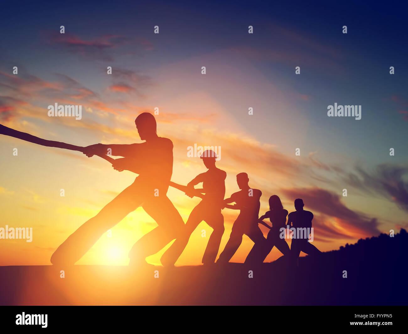 Grupo de personas Imagen De Stock