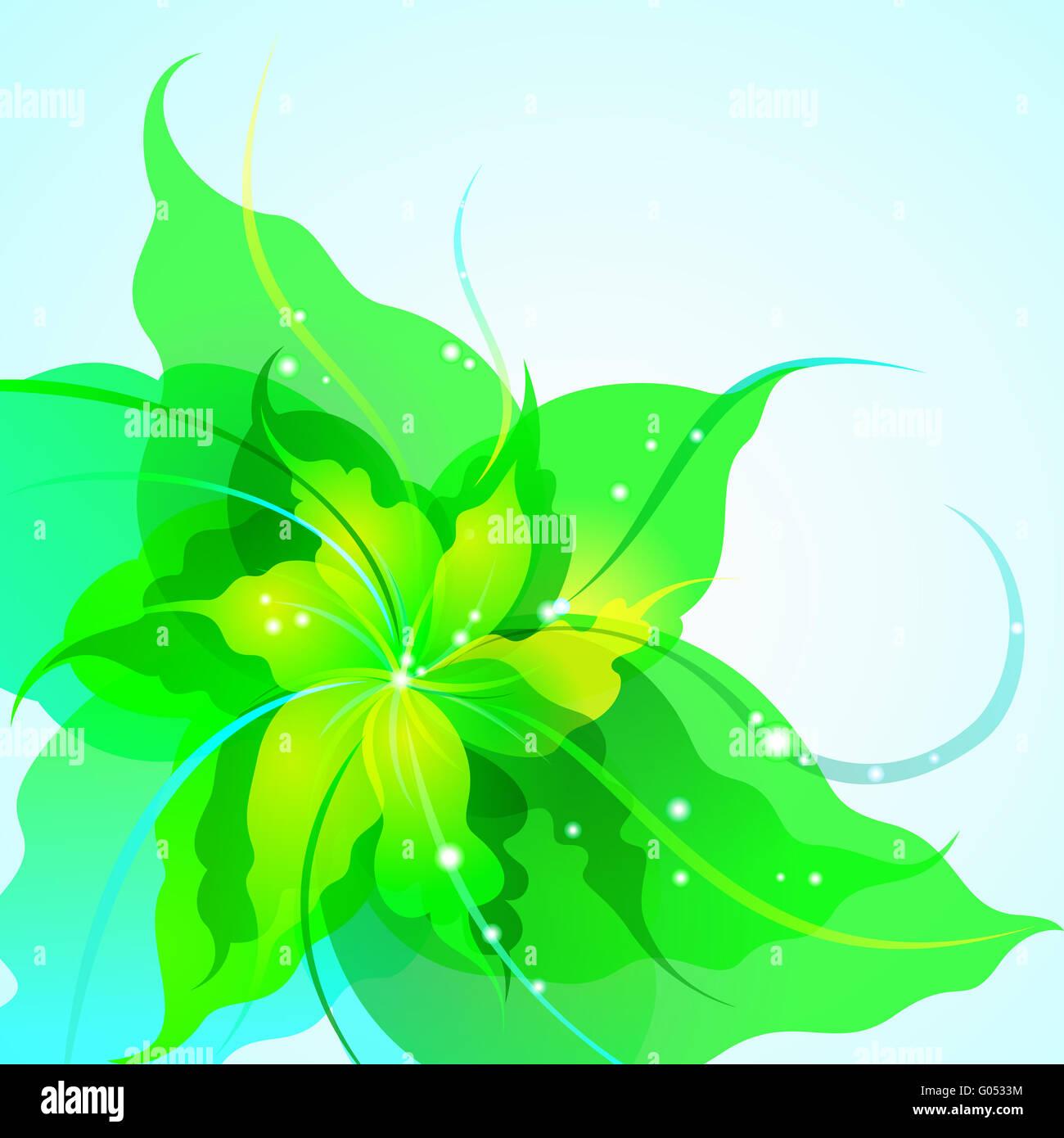 EPS10 fondo de flores Imagen De Stock