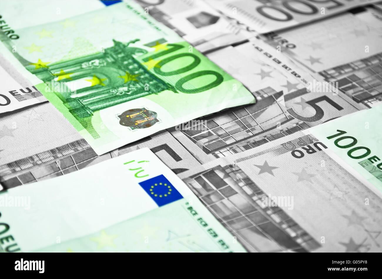Intereses de dinero negro Imagen De Stock