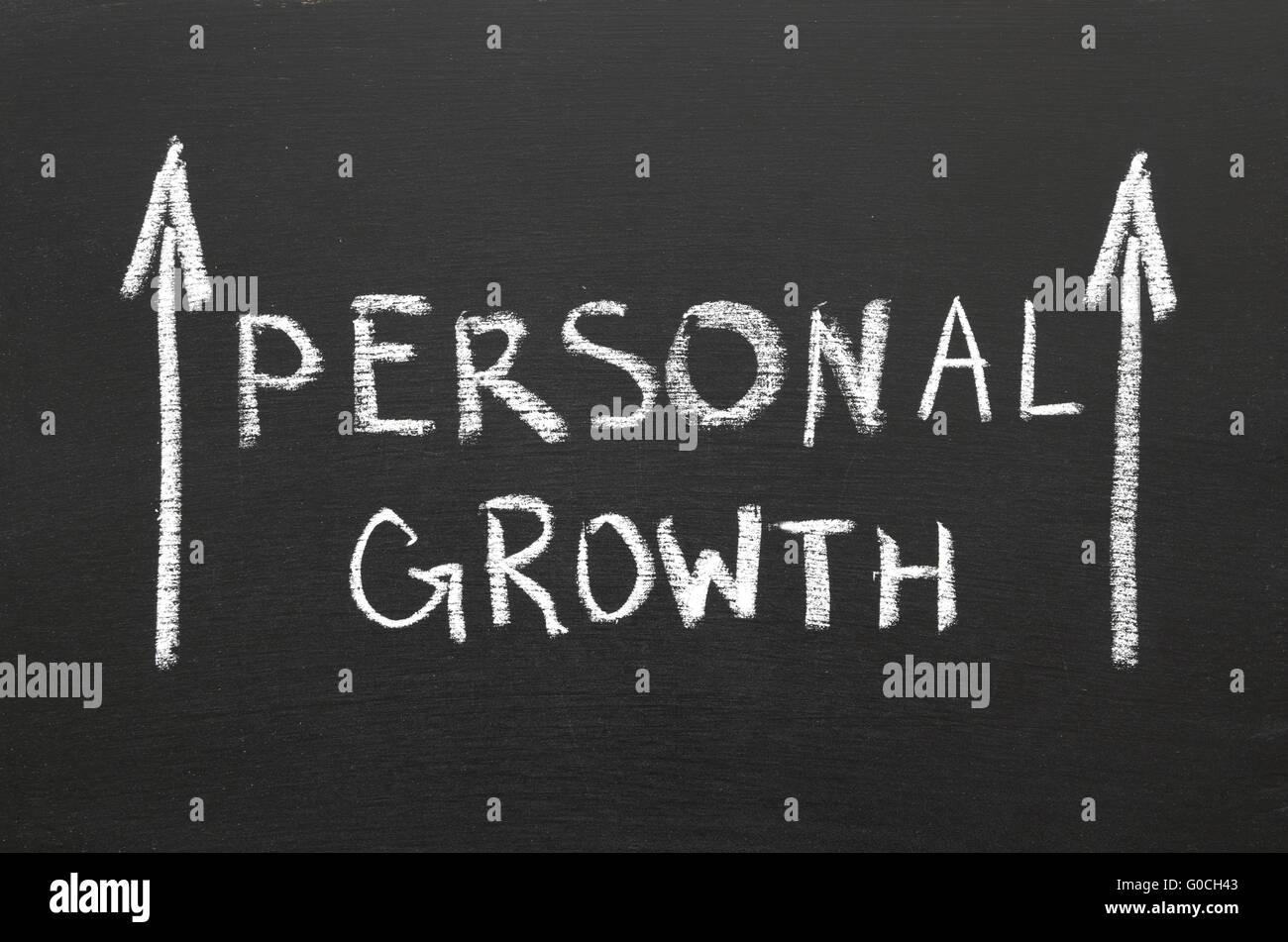 crecimiento personal Imagen De Stock