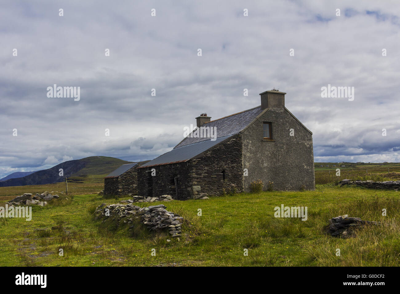 casa rural antiguo Imagen De Stock