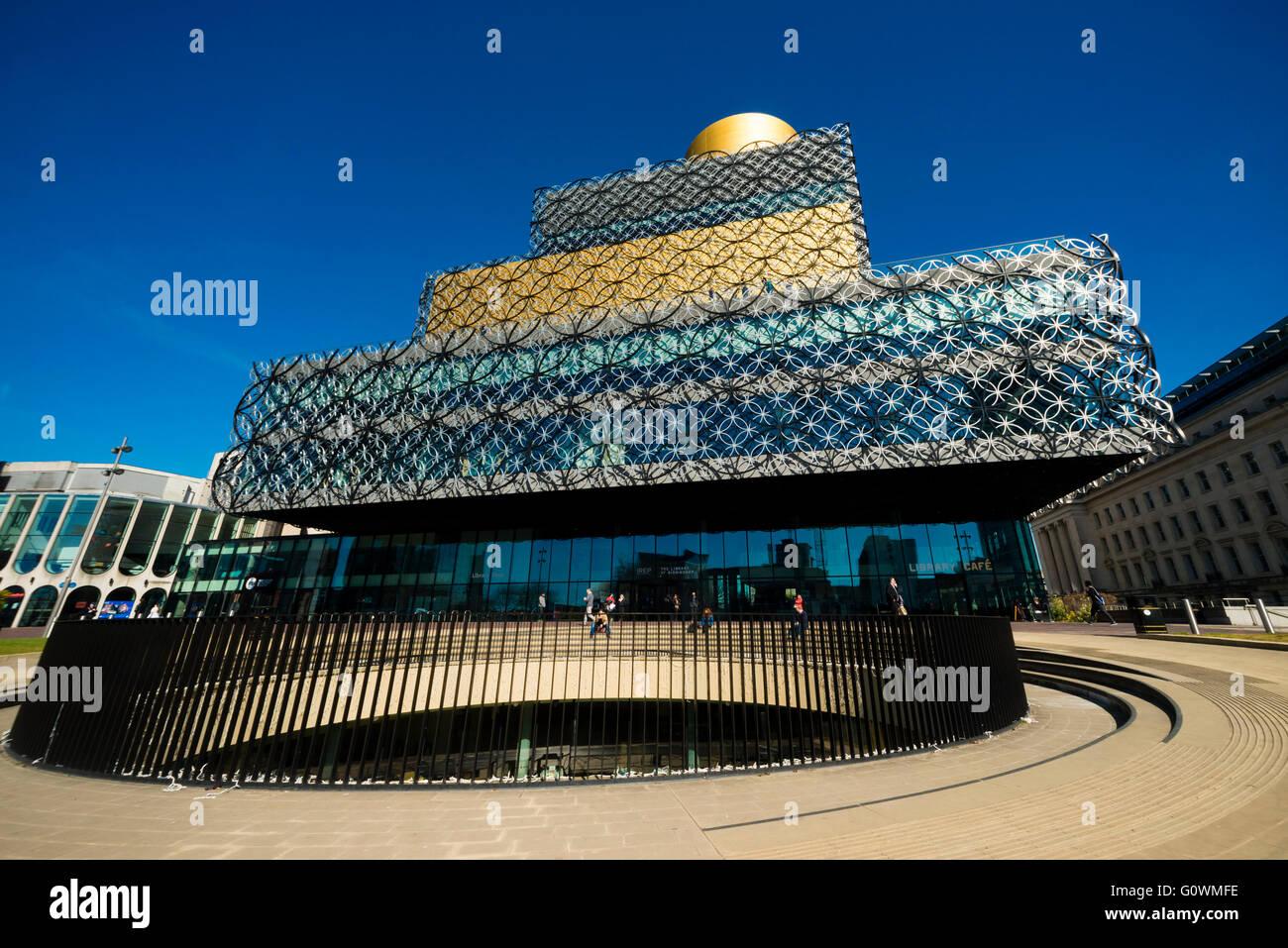 Biblioteca de Birmingham, Reino Unido. Imagen De Stock