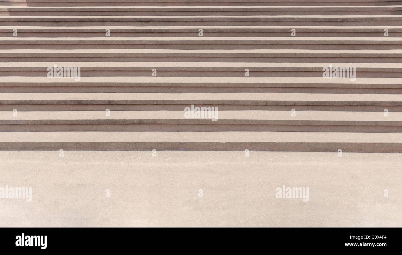 Escalera exterior acabado de agregado expuesto, resumen antecedentes Imagen De Stock