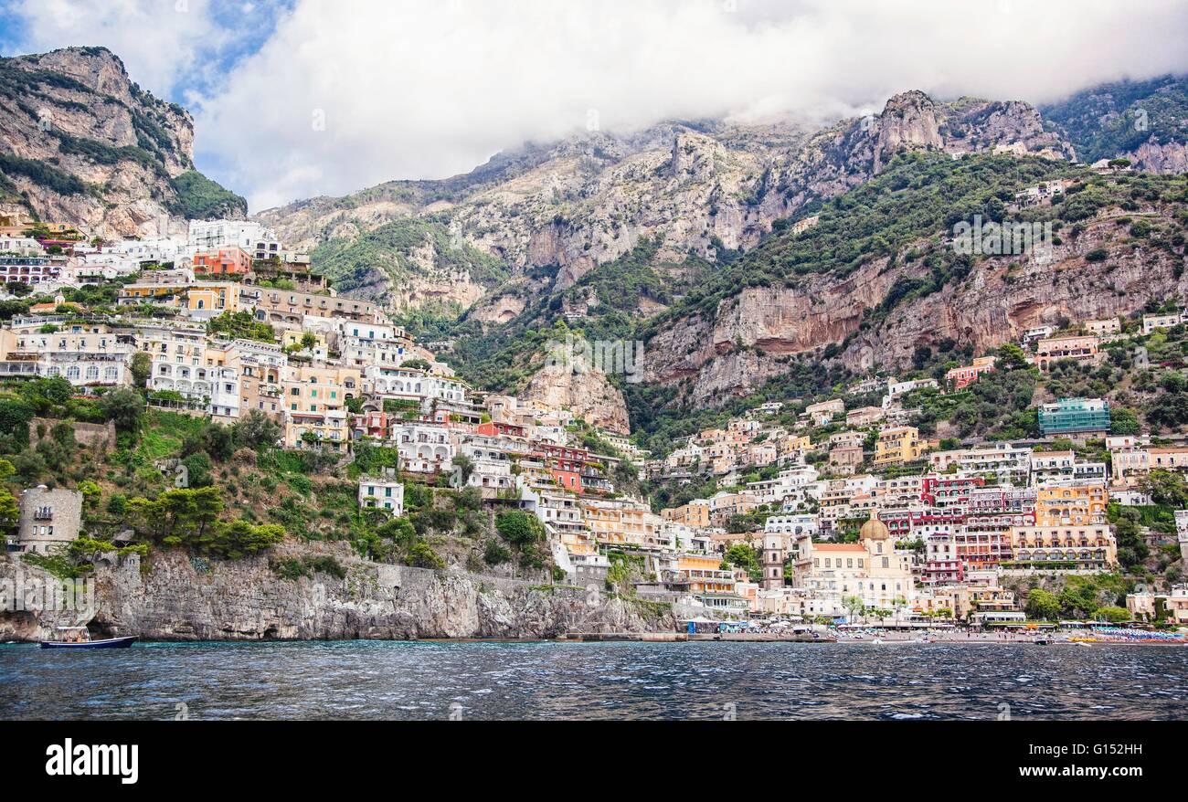 Amalfi, Provincia de Salerno, Italia Imagen De Stock