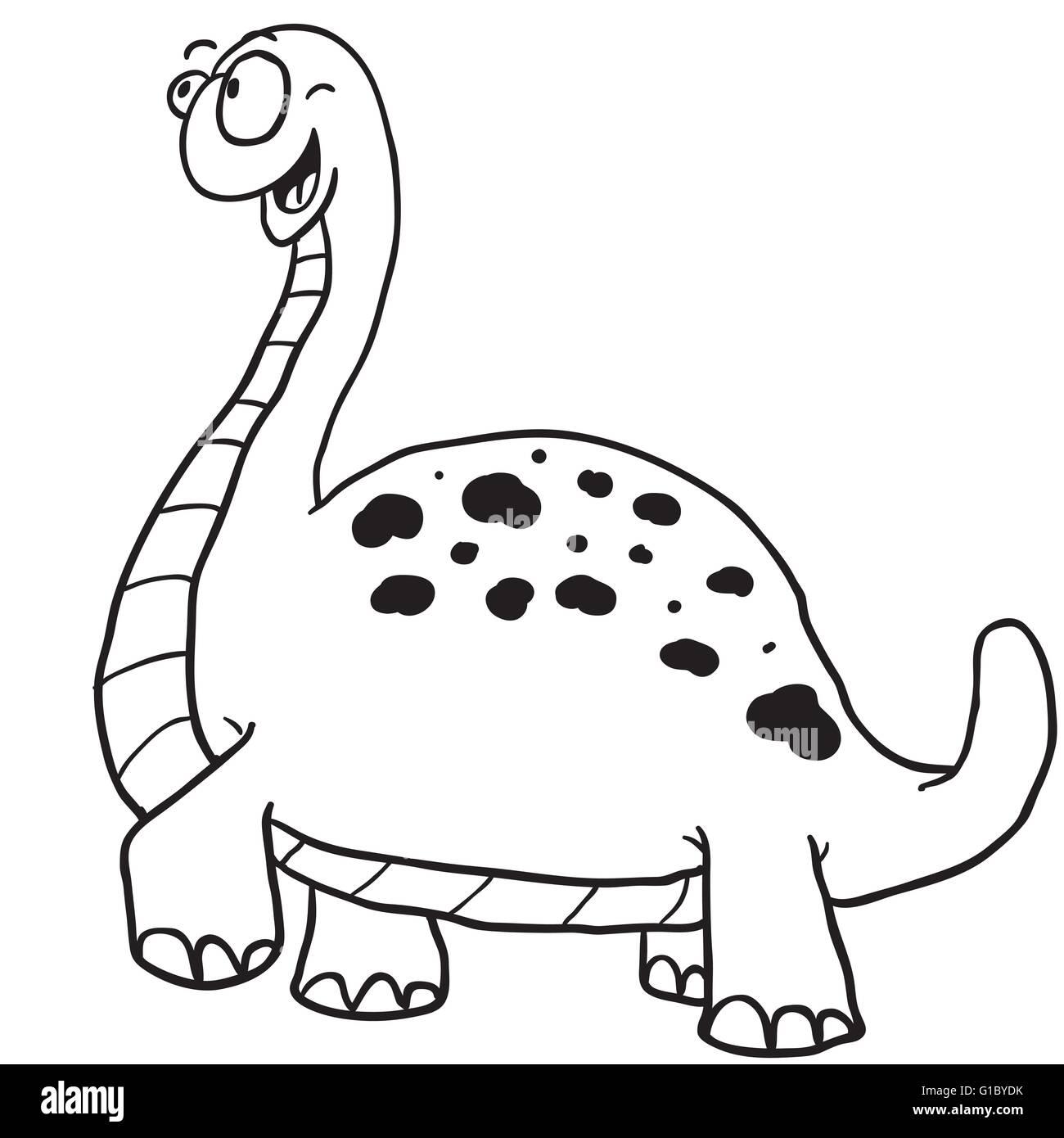 """Simple En Blanco Y Negro De Dibujos Animados Dinosaurios Imagen Vector De Stock Alamy Colección de impresiones en lienzo """"cuadros en blanco y negro son más populares las obras de este artista, que están disponibles en. https www alamy es foto simple en blanco y negro de dibujos animados dinosaurios 104139887 html"""