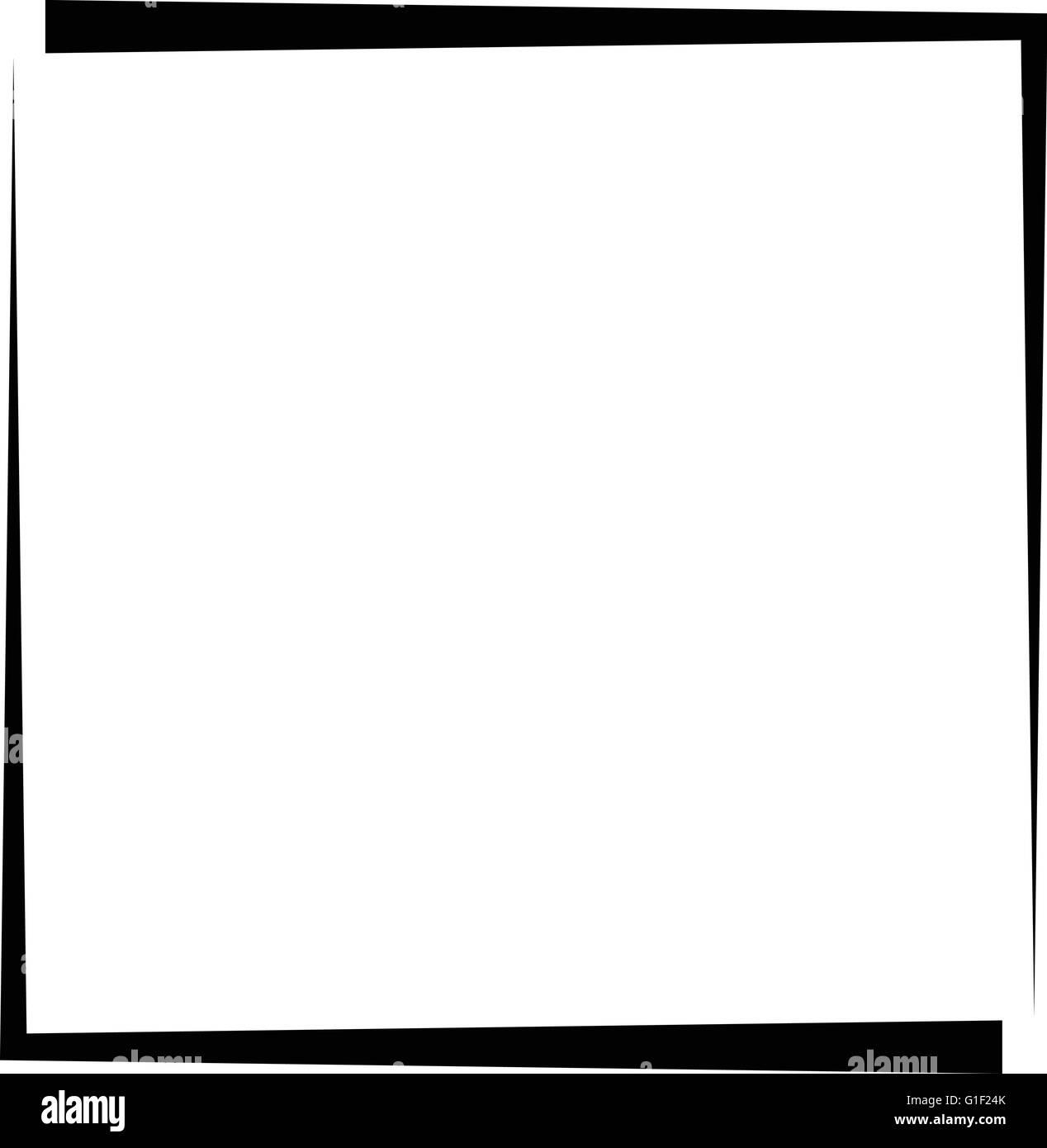 Marco de fotos de formato cuadrado, foto de frontera - líneas de ...