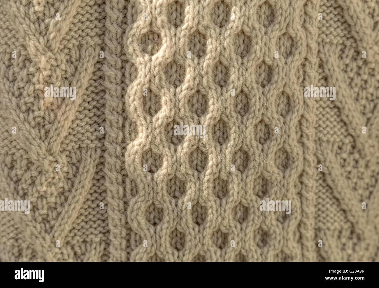 Aran Sweater Imágenes De Stock & Aran Sweater Fotos De Stock - Alamy